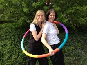 Ulrika och jag sommaren 2012. Bilden publicerad i M Magasin i juli.