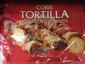 Corn Tortilla med lite fibrer