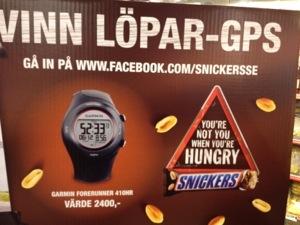 Ta en Snickers och bli en framgångsrik löpare