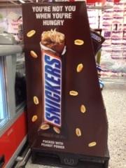 Snickers - kaloribomb