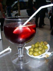 8 dl sangria på Las Ramblas