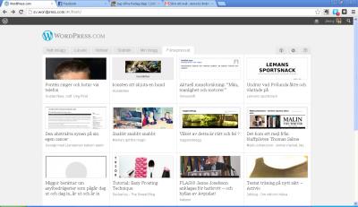 2xlblog färskpressad på WordPress 121005