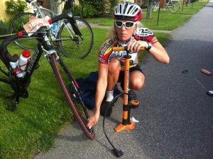 Lotta Triathlon mästarinna med enorm energi