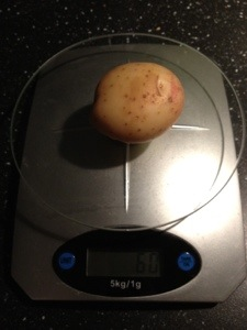 Potatis på våg