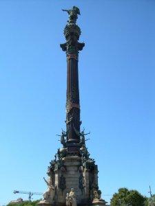 Columbusstatyn i Barcelona