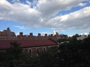 Vy från High Line