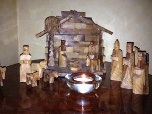 Julkrubba från Betlehem