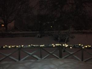 Lagom mycket snö och alldeles lagom kallt!