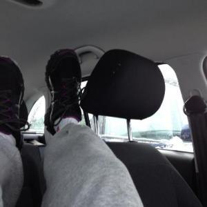 krypa in i bilen