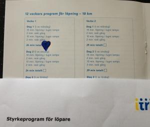 Löpträningssschema