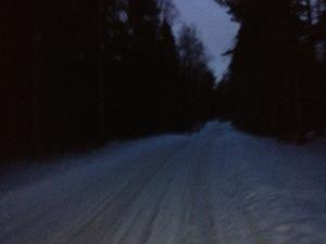 Mörkt och isigt på löp-RUNDAN!