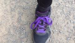 """""""Långsamma skor"""" med plats för inlägg"""