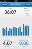 Fyra kilometer i snigeltempo