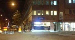 Itrim i Uppsalas kvällsljus