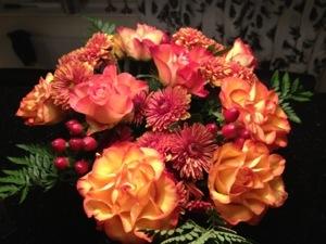 Underbara blommor från Itrim Täby