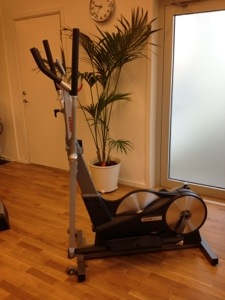 Crosstrainer - ger träning för massor av olika muskler på en gång.