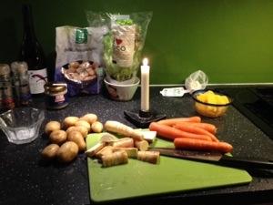 Morötter, palsternackor, potatis