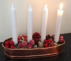 Julen börjar inte längre 1 december eller 1:a Advent!